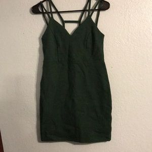 Solemio Dark Green Dress